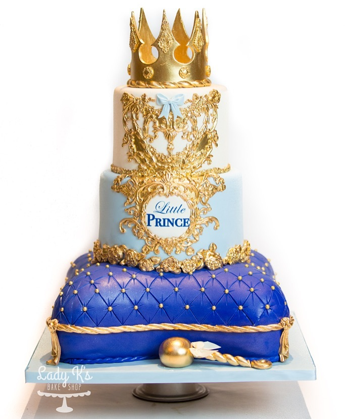 Little prince pillow baby cake
