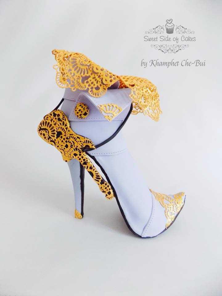 lavender sugar shoe