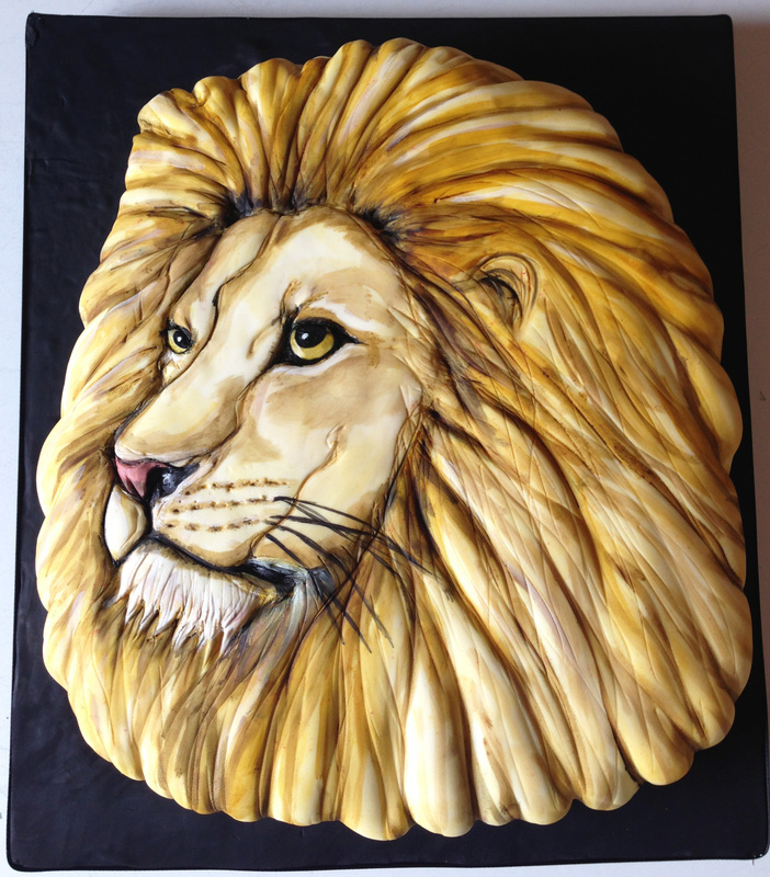 Sculpted Lion Head