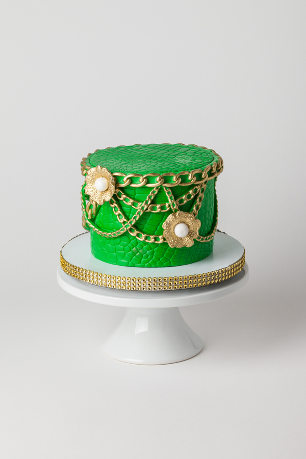 Green Jewelry Box