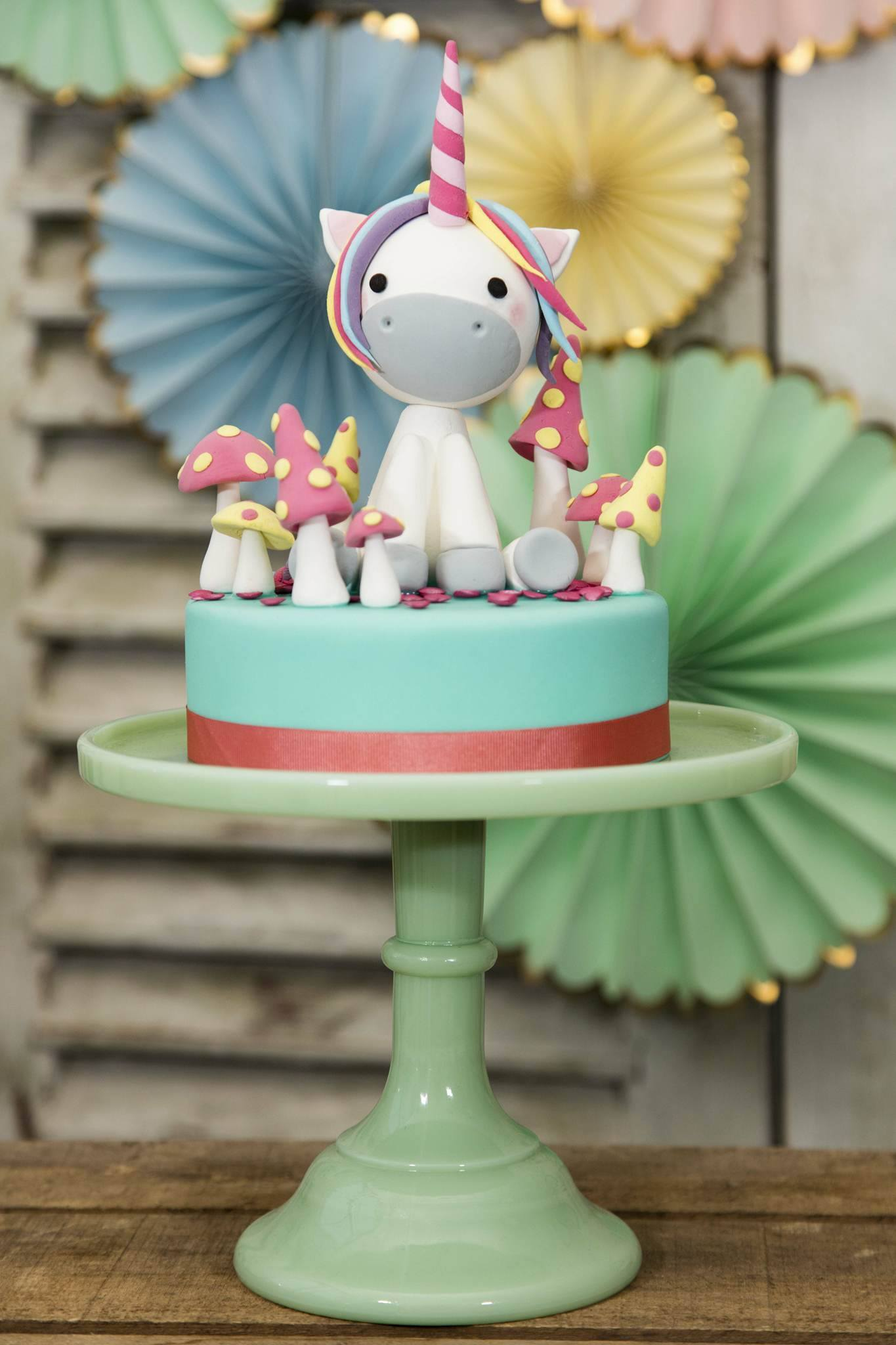 Unicorn topper mini bithday