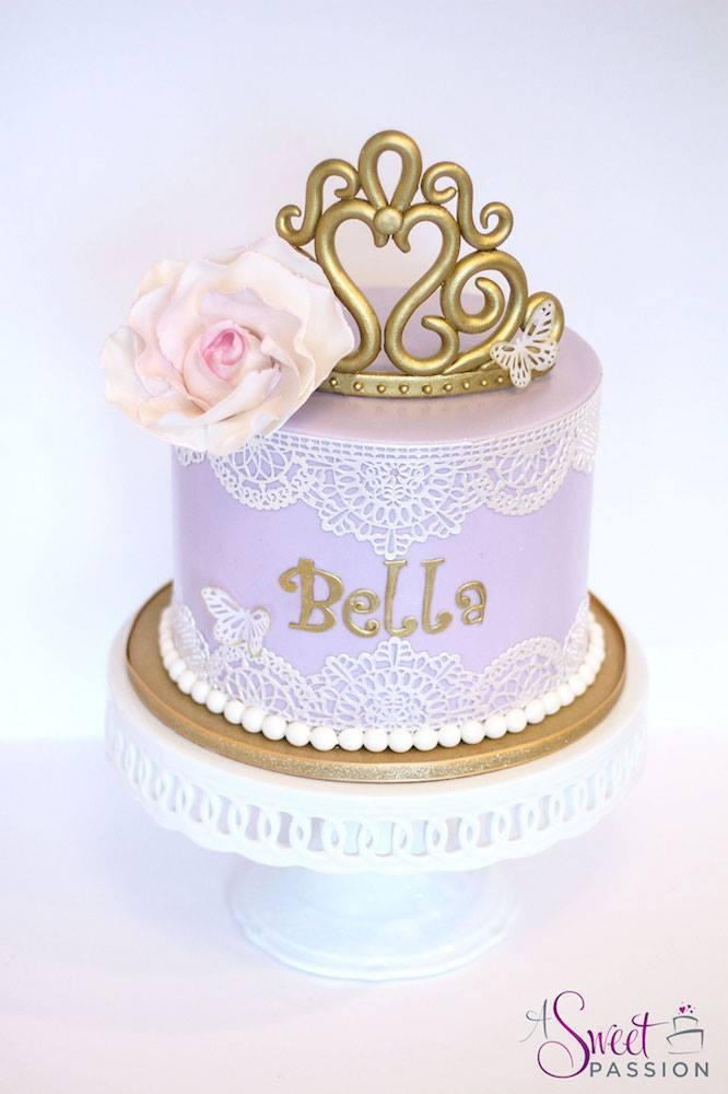 Lavender princess cake