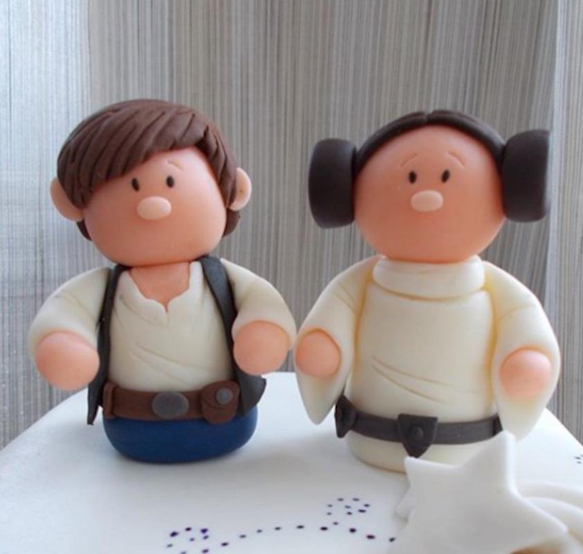 Stars Wars Cake Topper