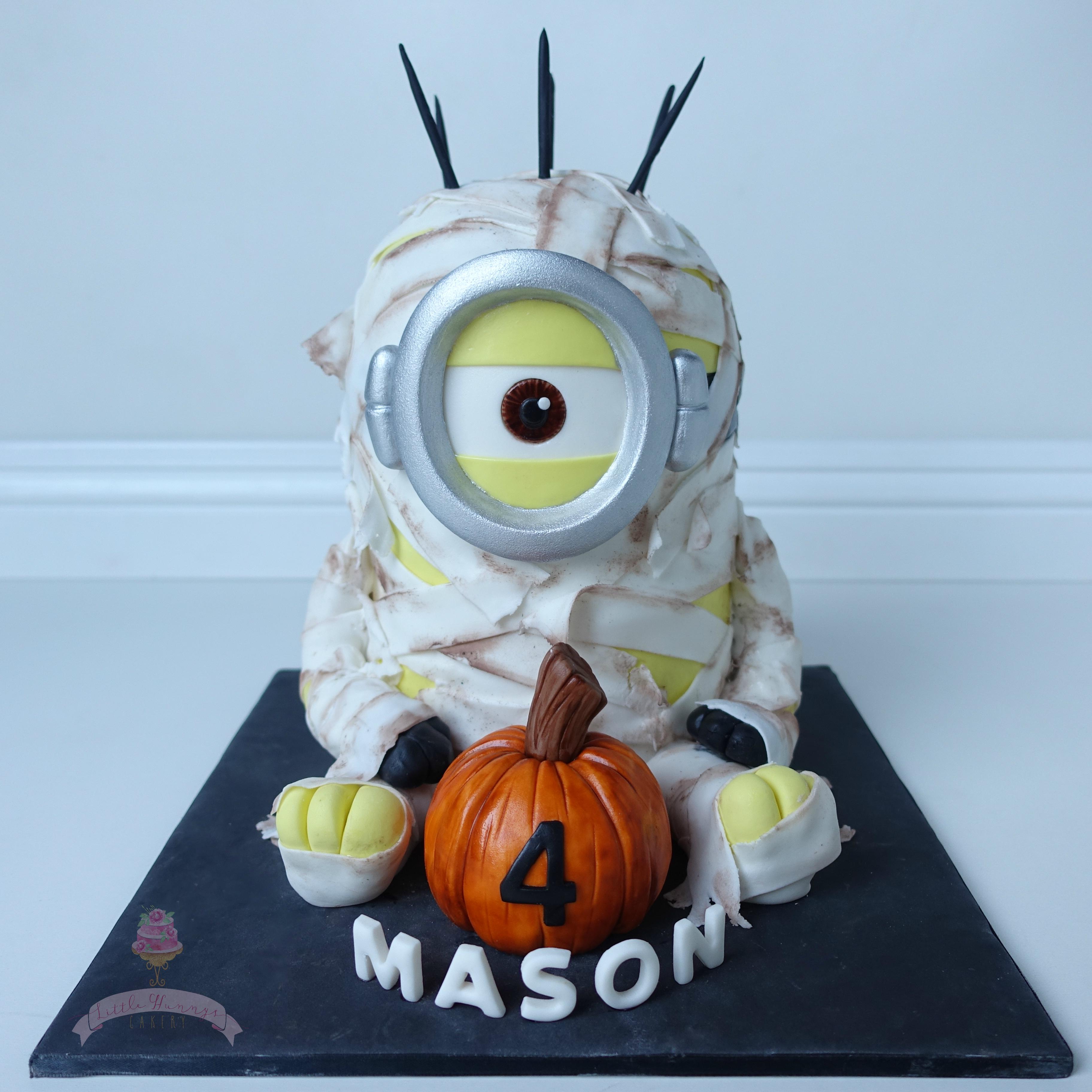 Halloween Mummy Minion Birthday
