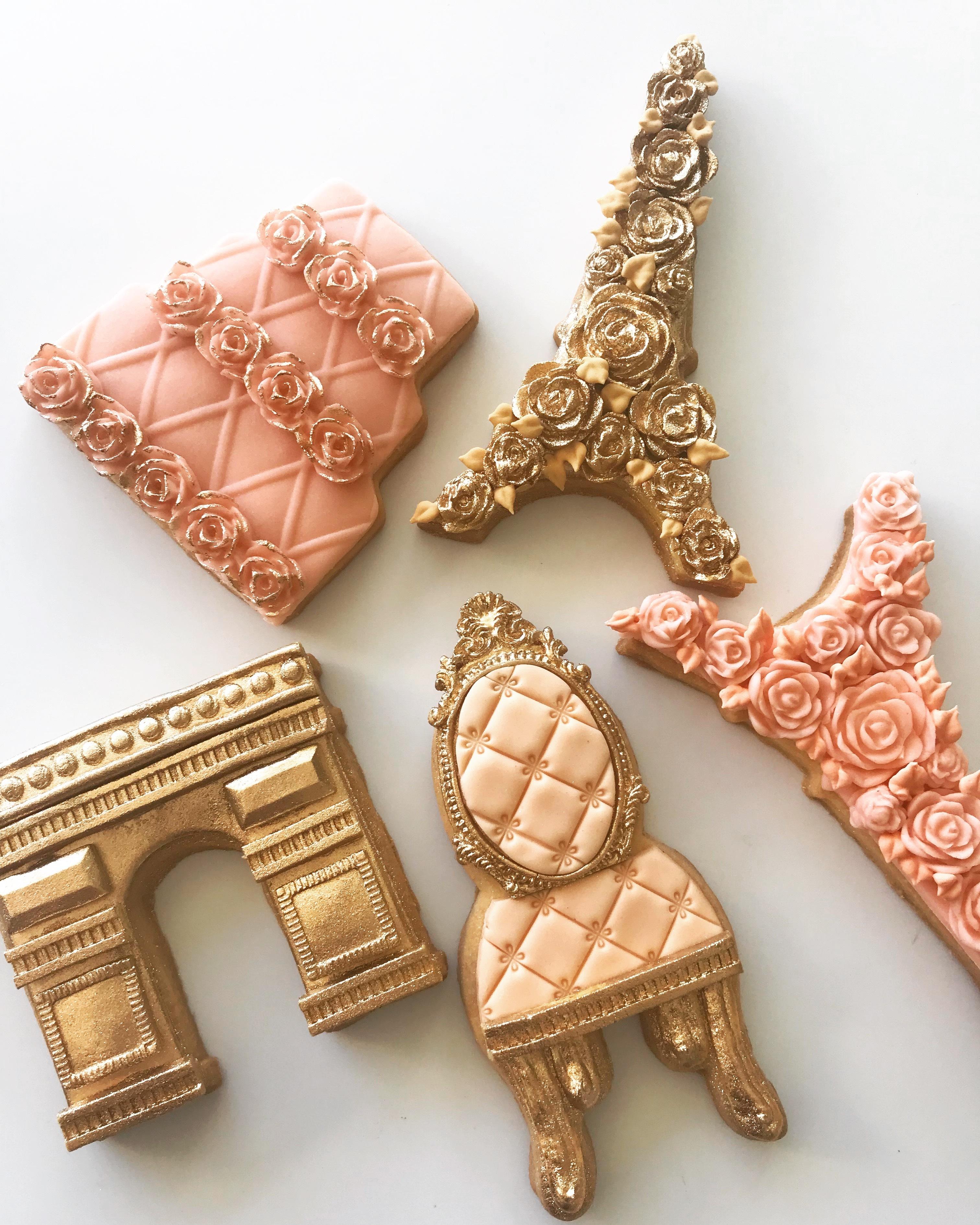Parisian fondant cookies