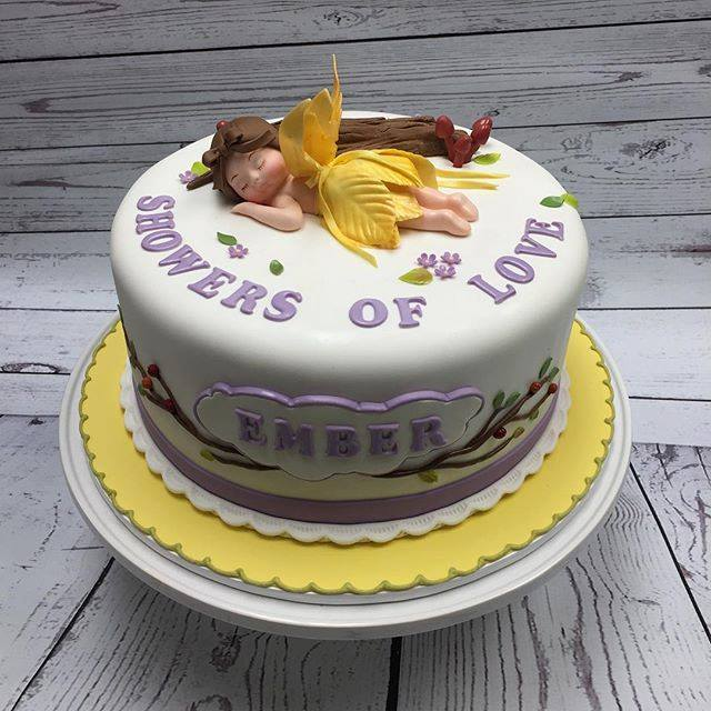 Mini Fairy themed cake