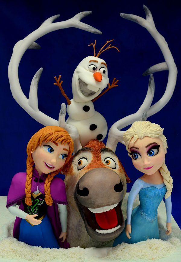 Frozen Figurine Toppers