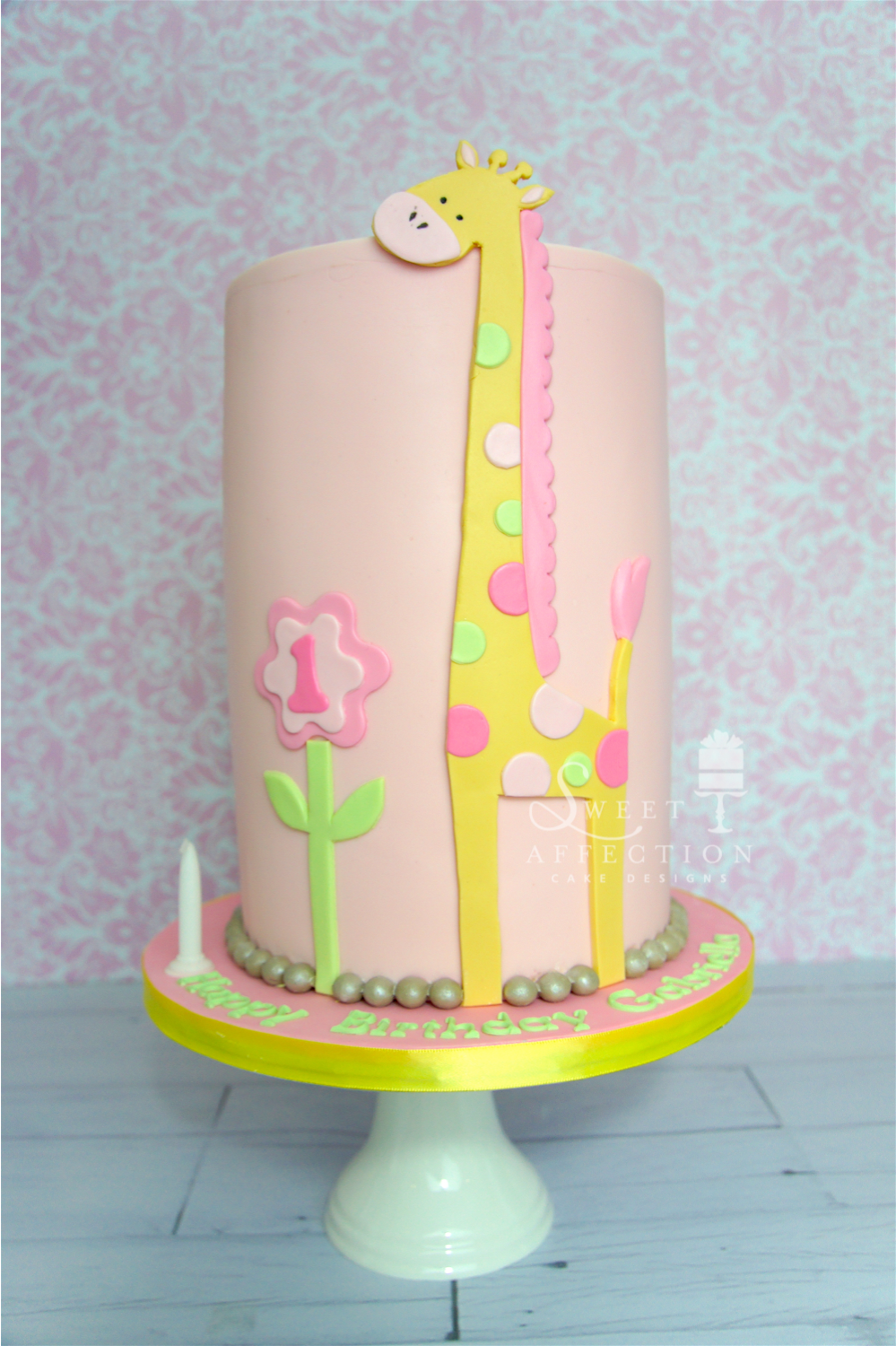 Pink Giraffe Birthday