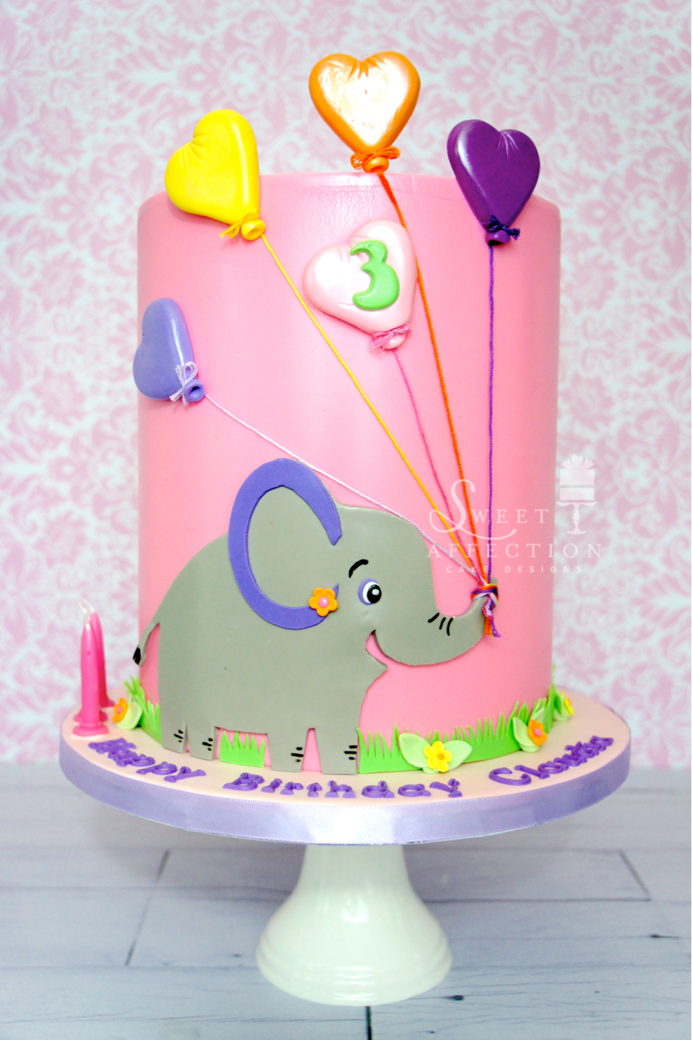 Pink Elephant Birthday