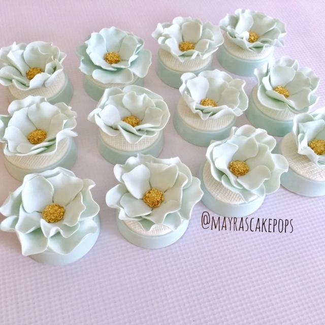 Boho rustic cupcakes