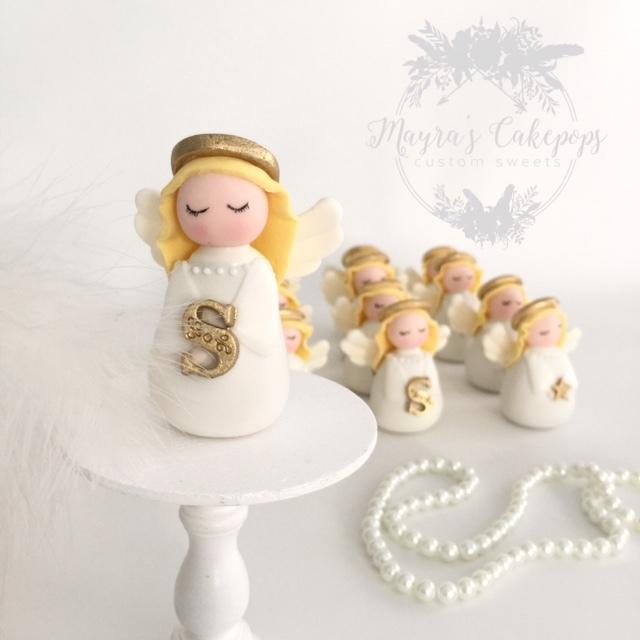 Gum Paste Christmas Angels