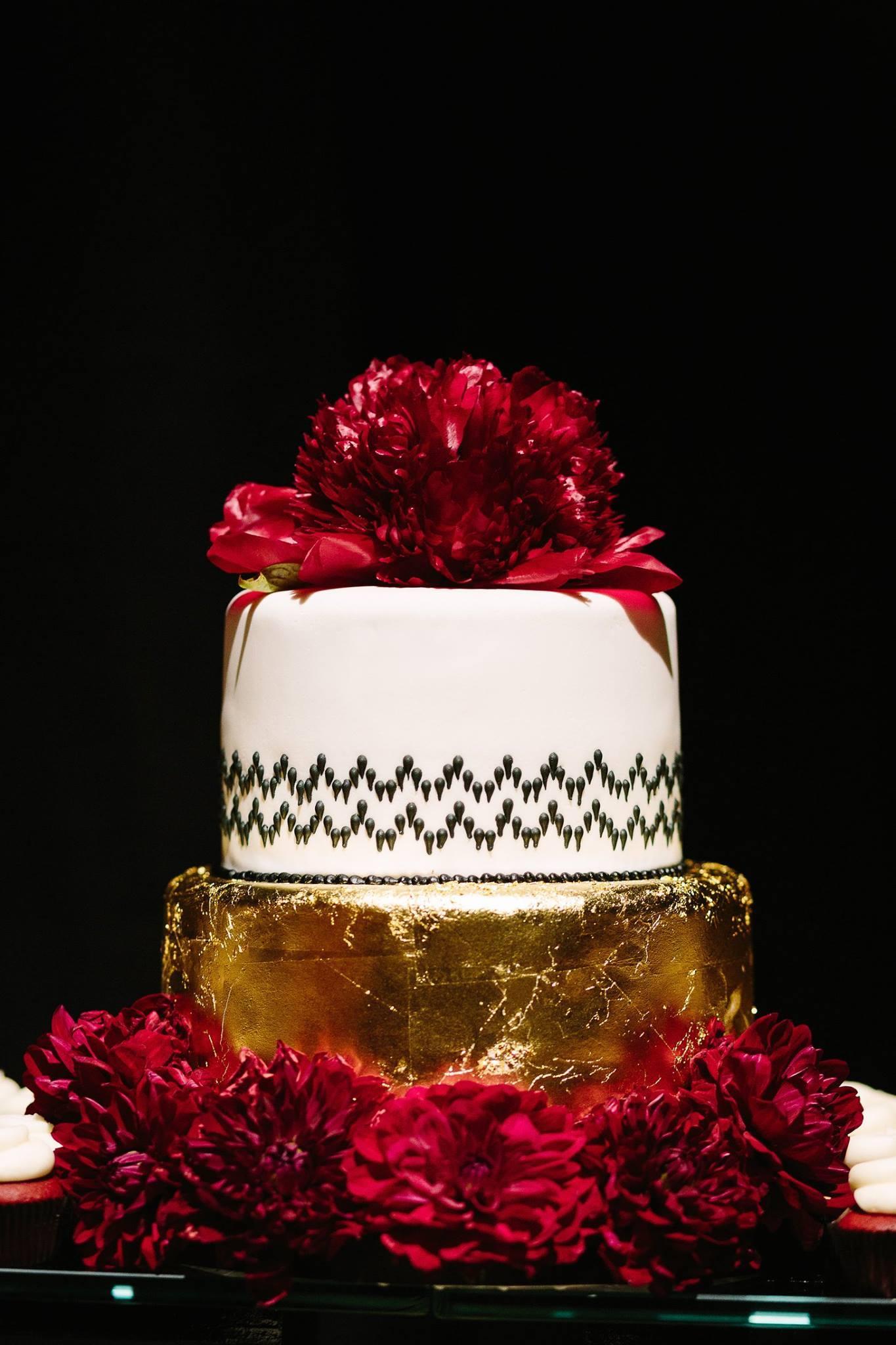 Gold & White Wedding