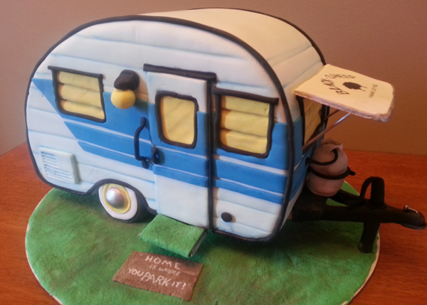 Sculpted Camper