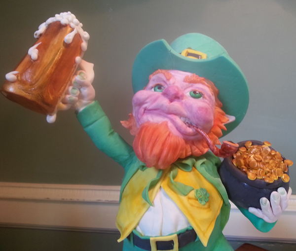 Sculpted Leprechaun