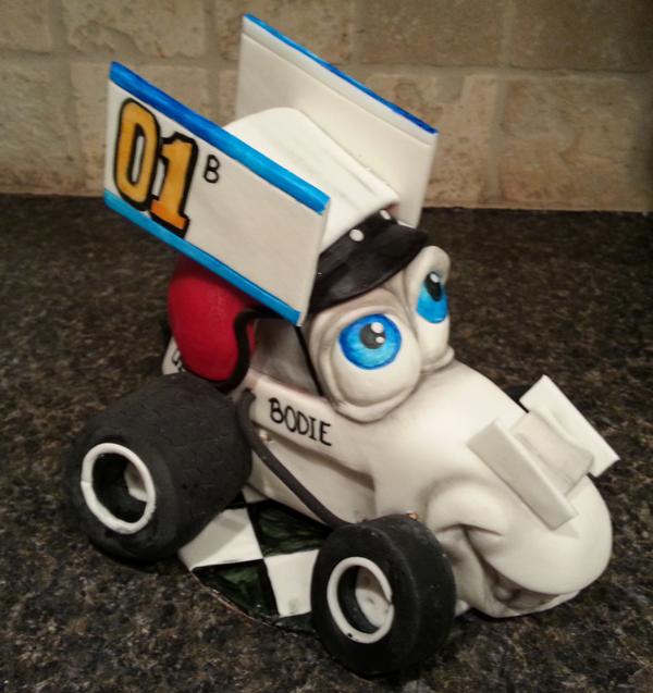 Sculpted Race Car