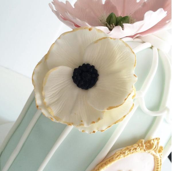 Gum paste Anemone