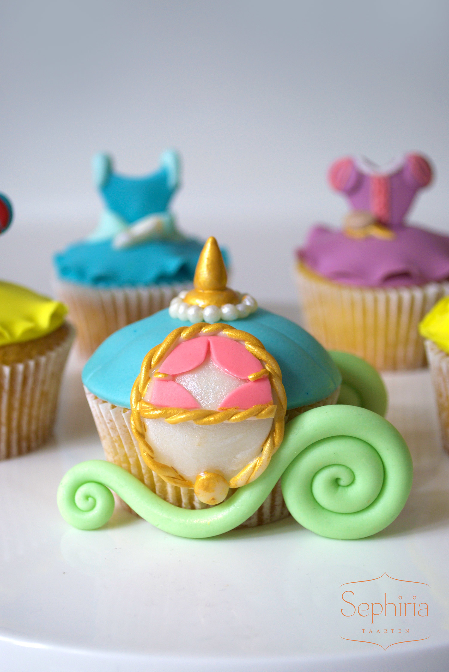 Princess Carriage Cupcakes