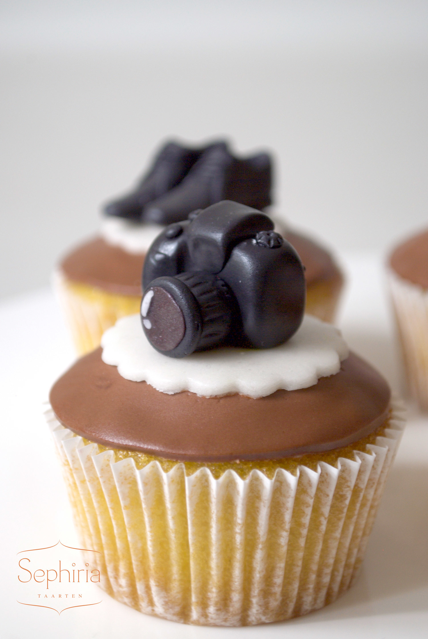 Camera Cupcake Toppers
