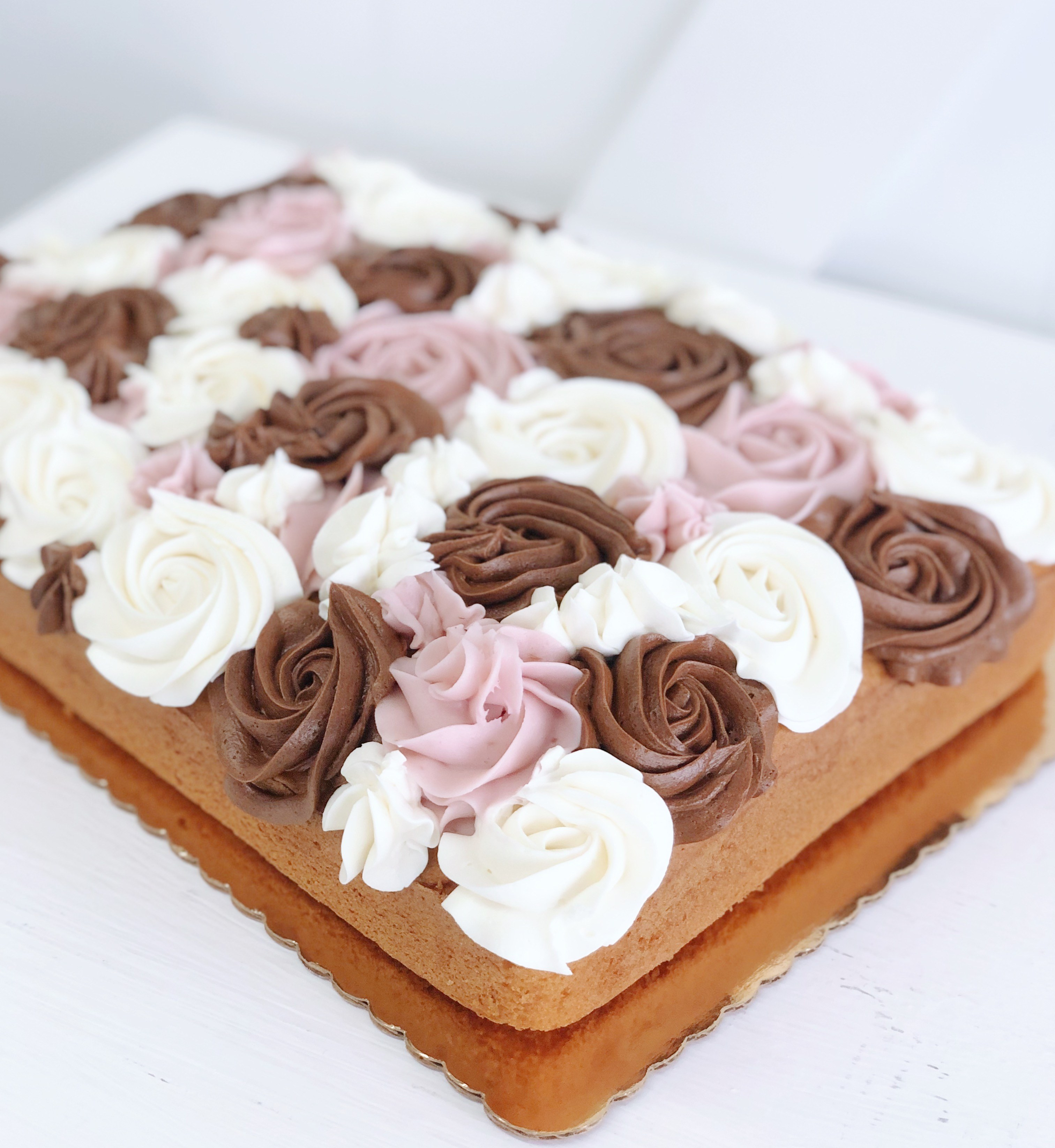 Buttercream Neapolitan