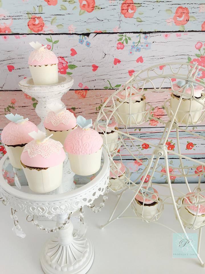 Light pink Cupcakes