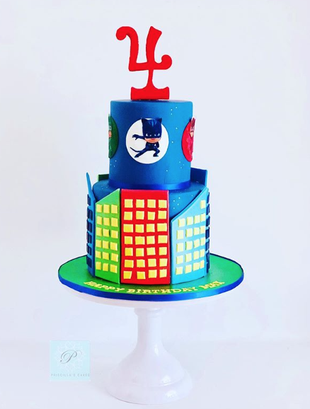 Disney PJ Masks birthday cake