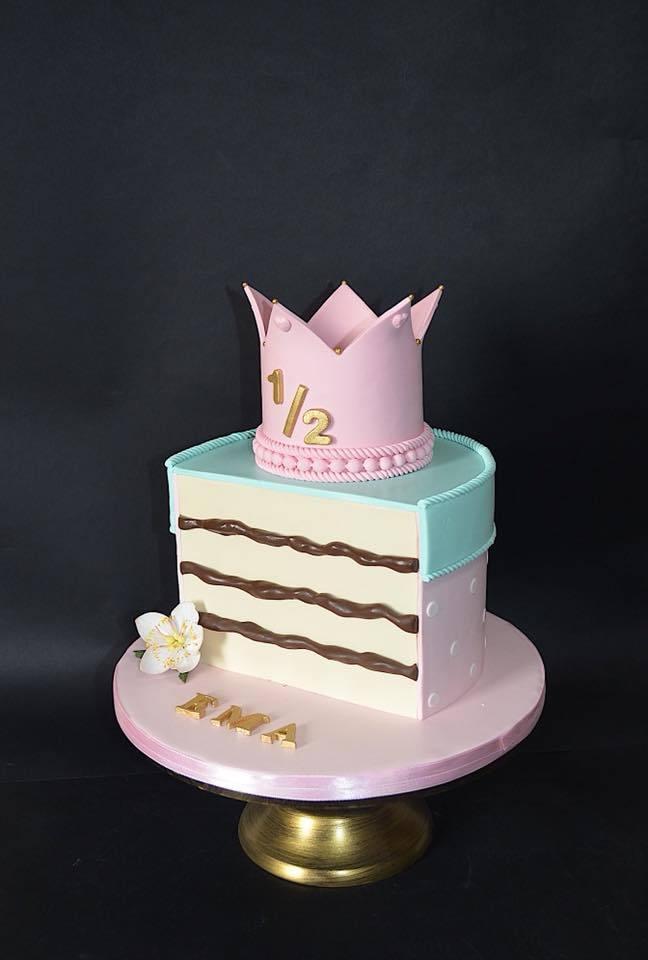 Slice of cake birthday