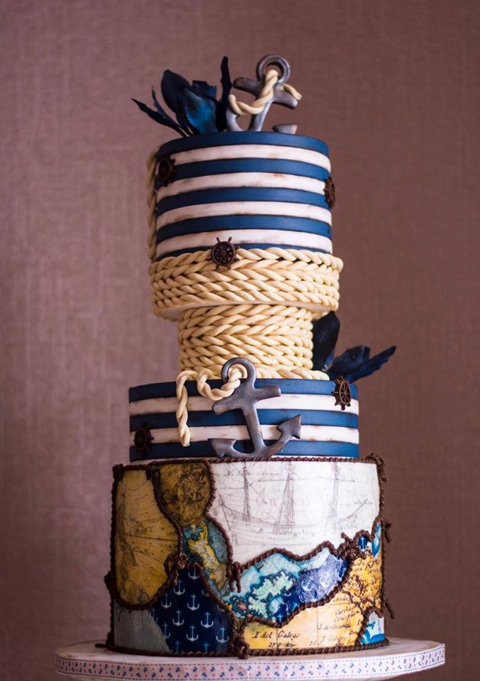 Nautical cake