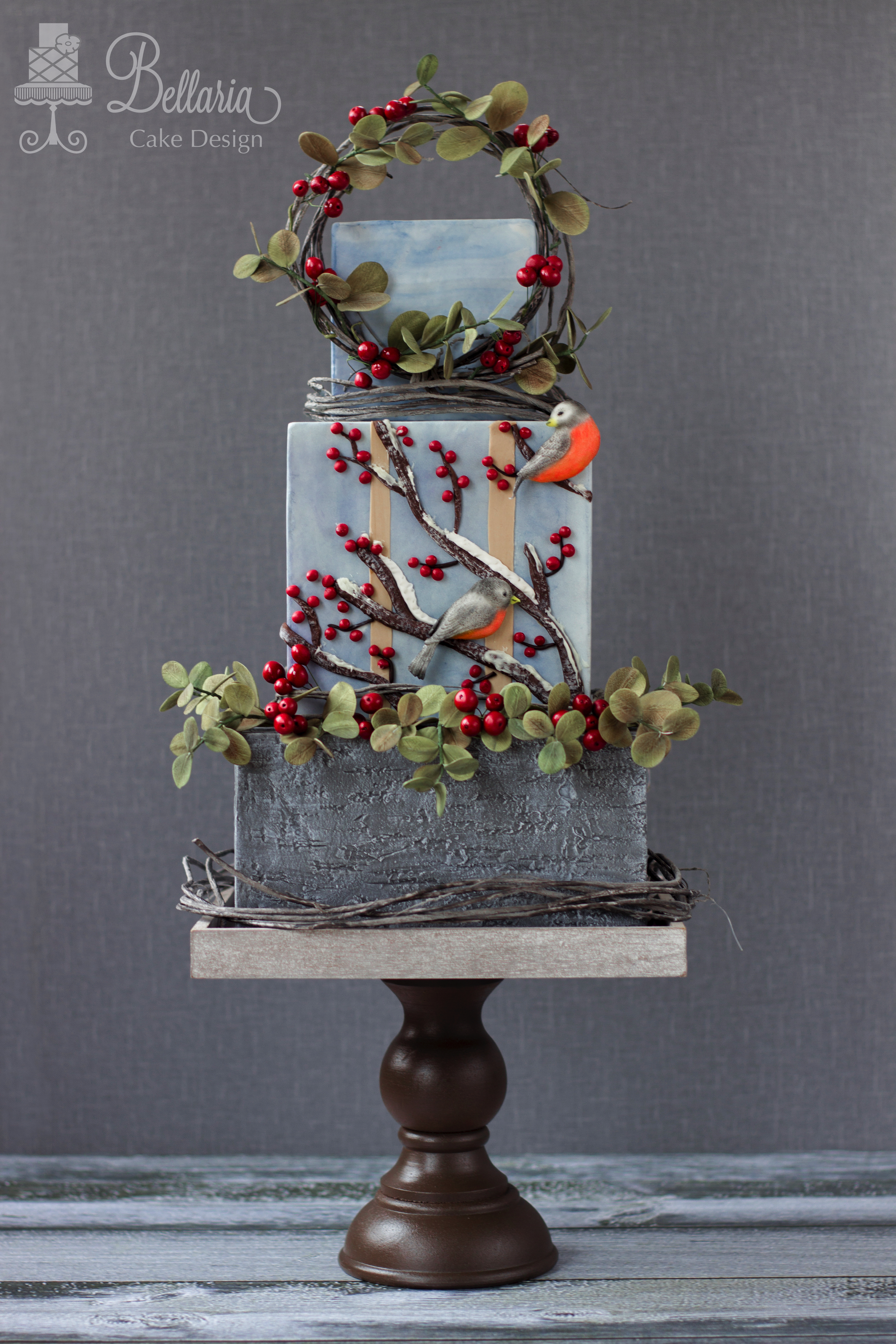 Cherry Blossom fondant cake