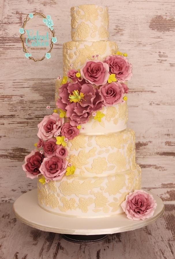 Yellow & White Wedding