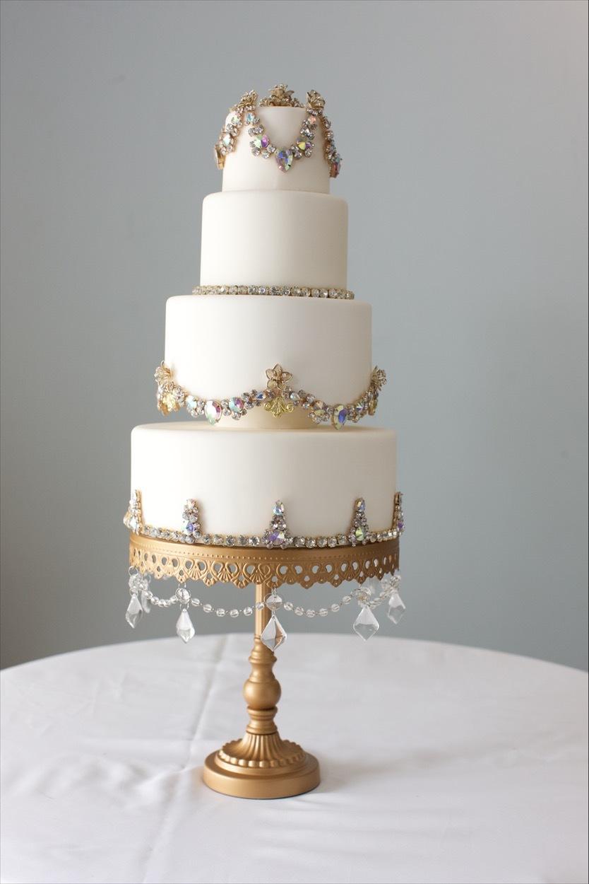 Ivory Jeweled Wedding
