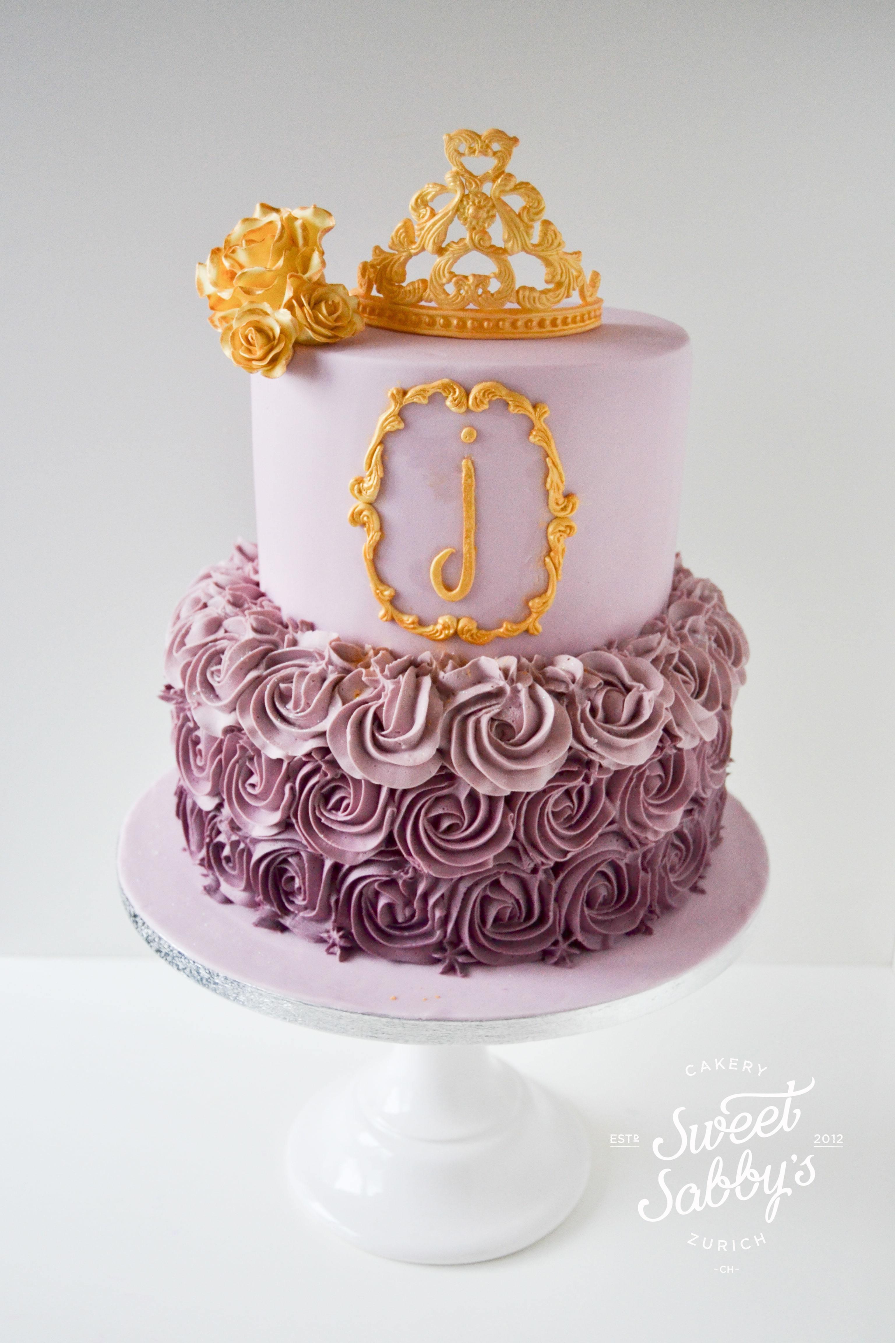 Purple Ombre Princess Birthday