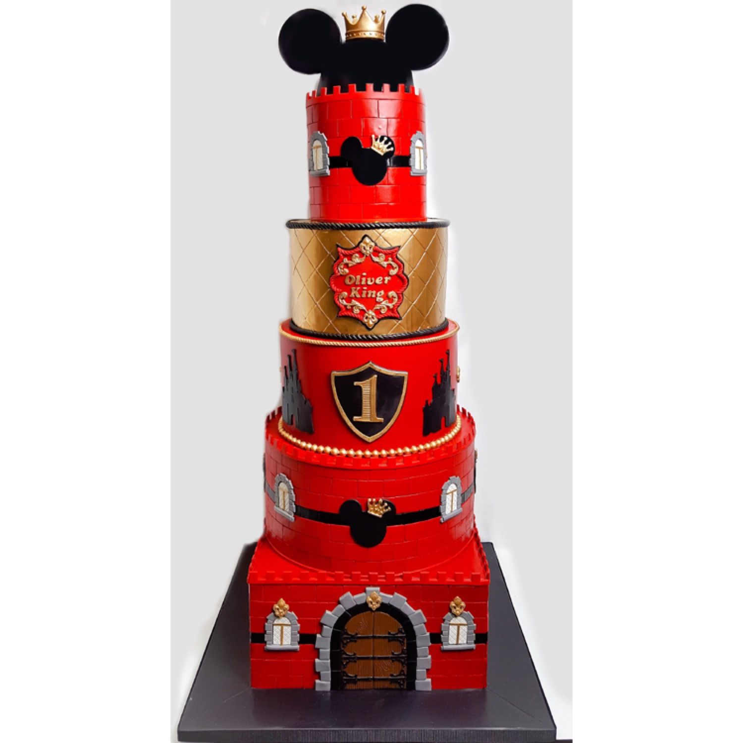 Mickey Mouse prince cake