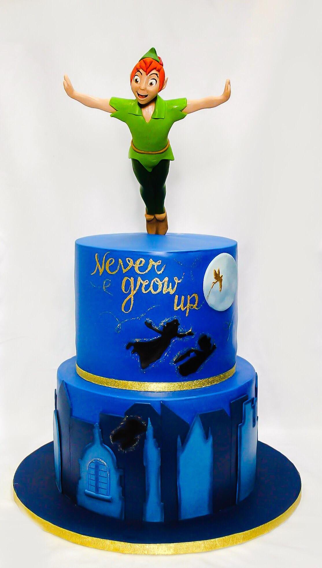 Peter Pan Neverland Cake