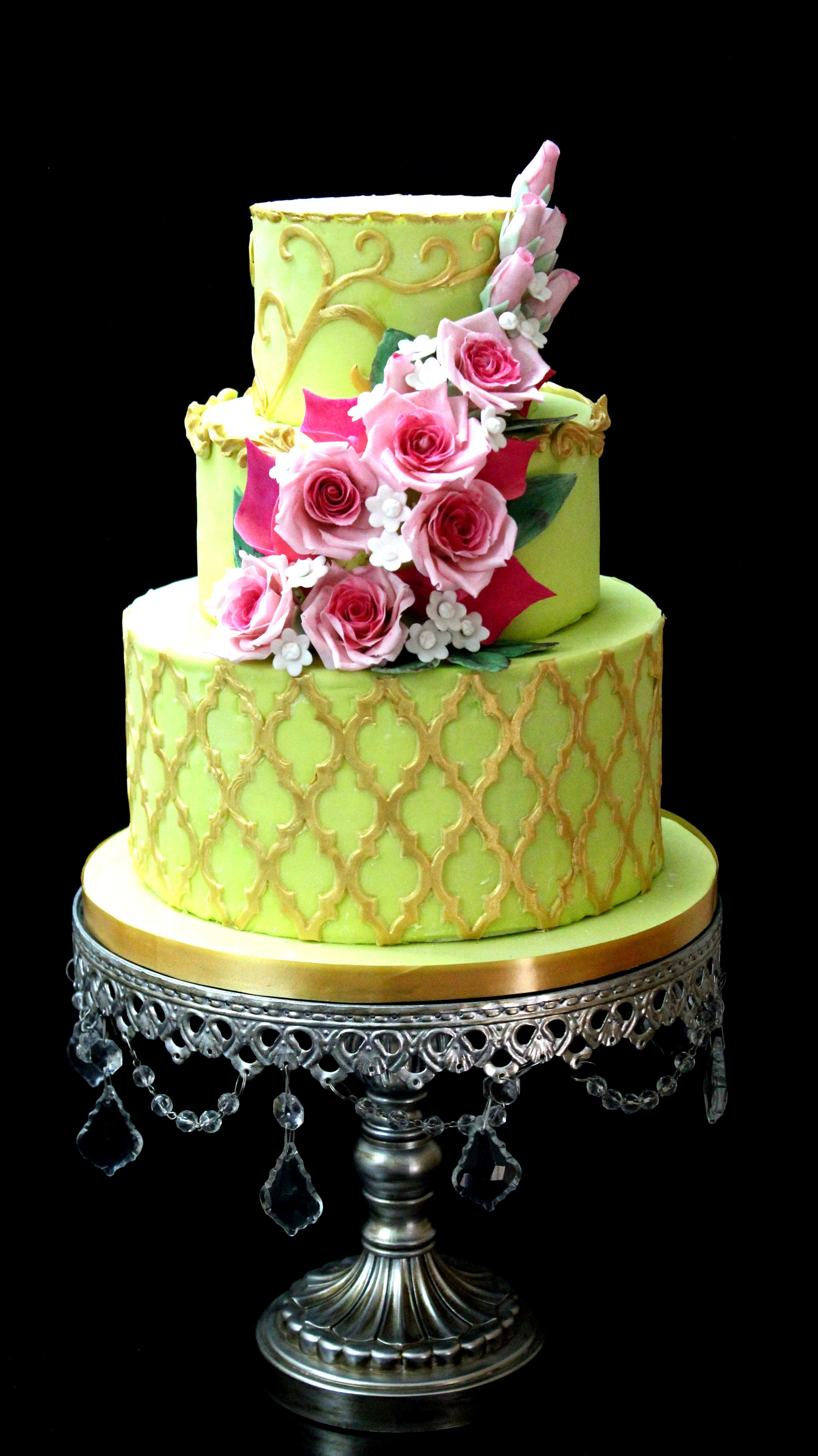 Bright Green Wedding