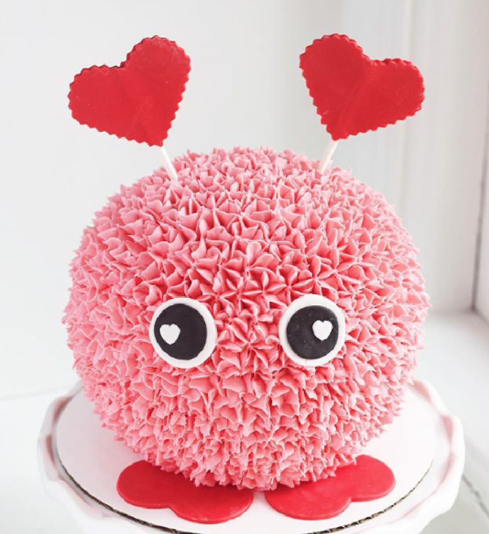 Love Bug cake Topper