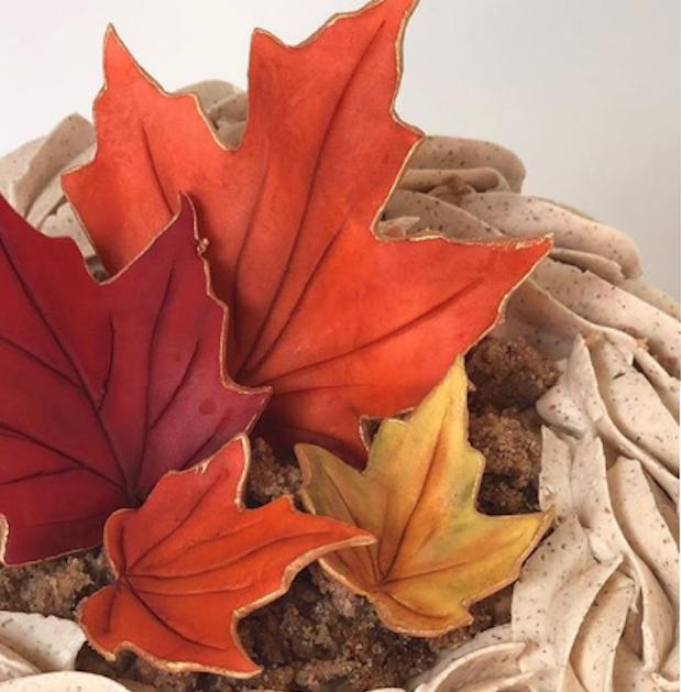 Fall Foliage sugar leaves