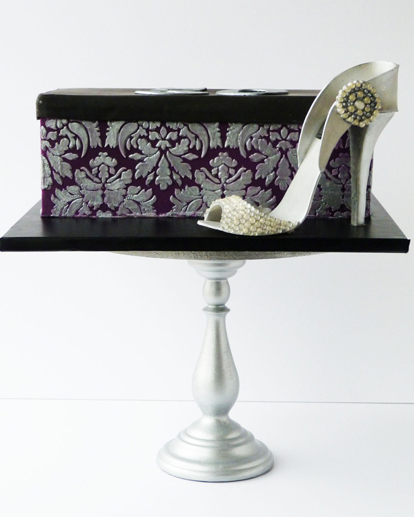 High Heel and Shoe Box