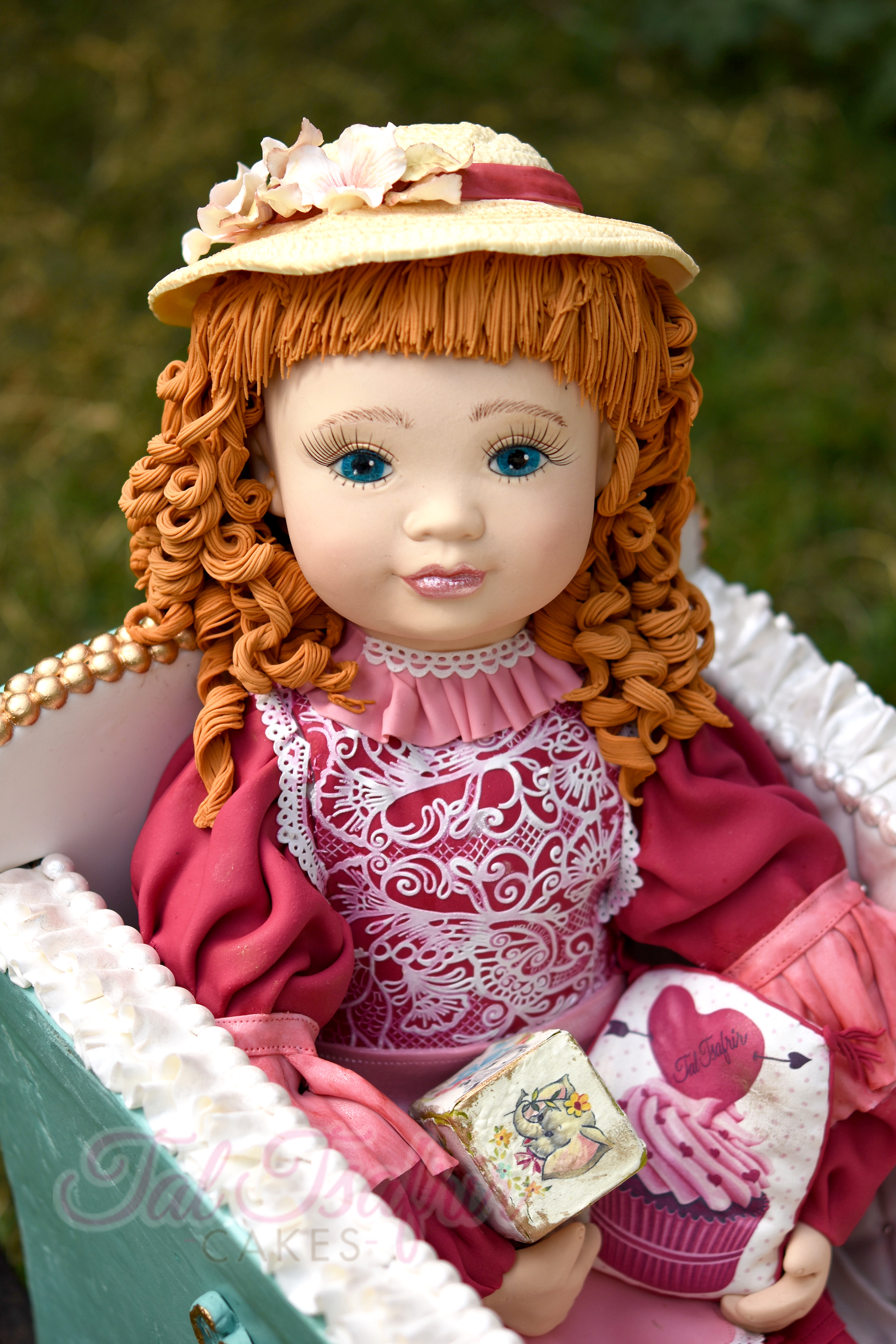Baby Doll Figurine