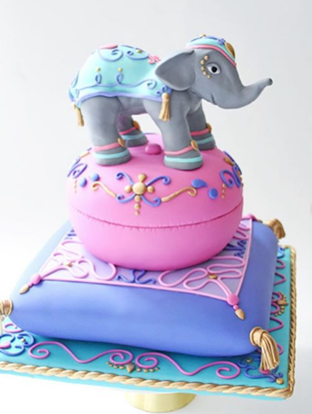 Bollywood Fondant Elephant cake