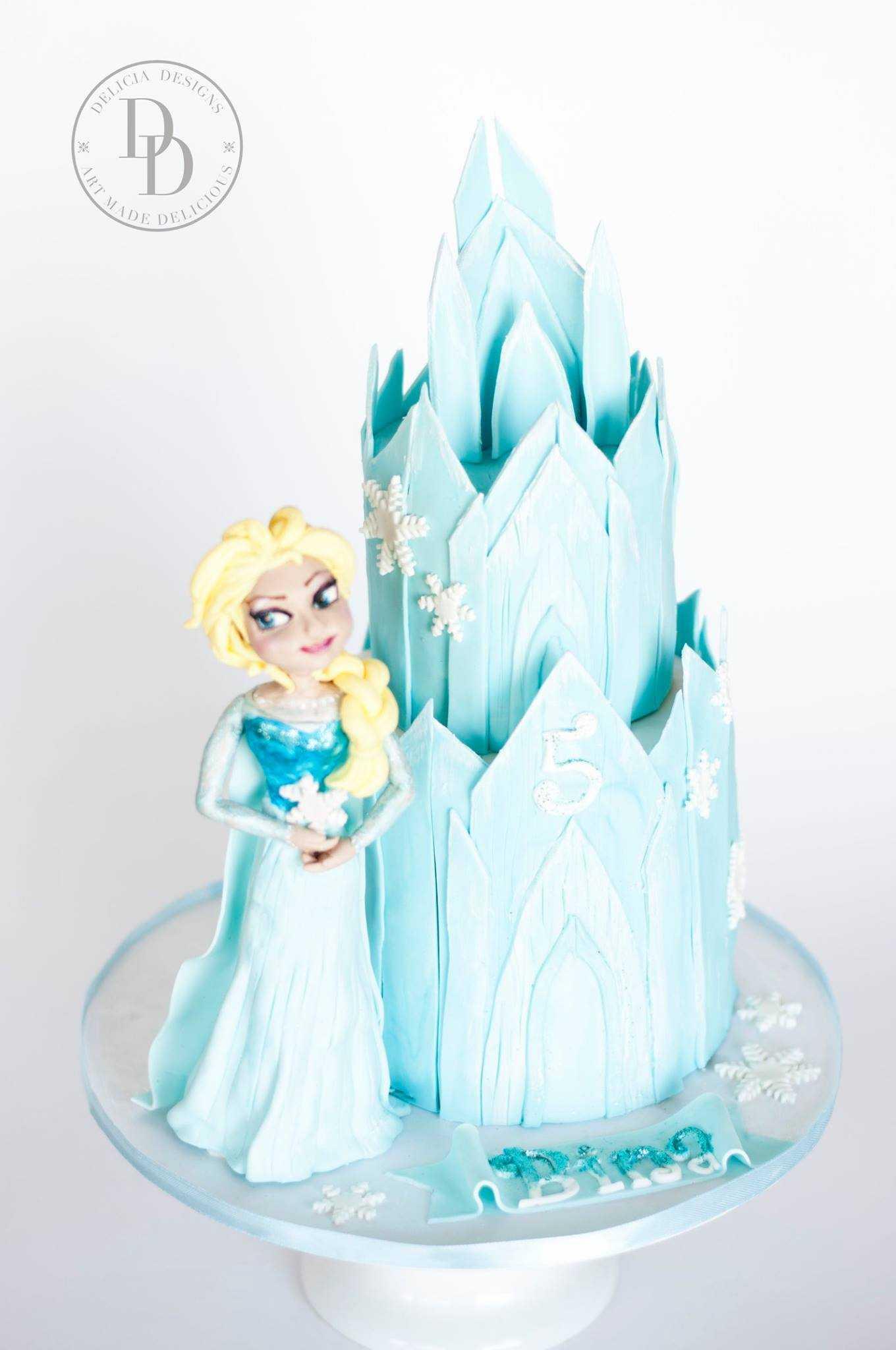 Frozen Castle Girl Birthday Theme