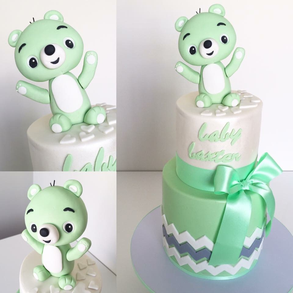 Teddy bear Baby cake