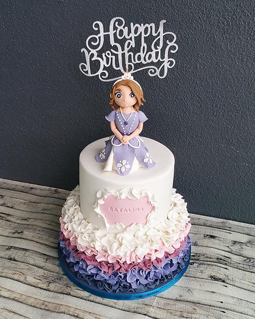 Princess Sophia Birthday Cake