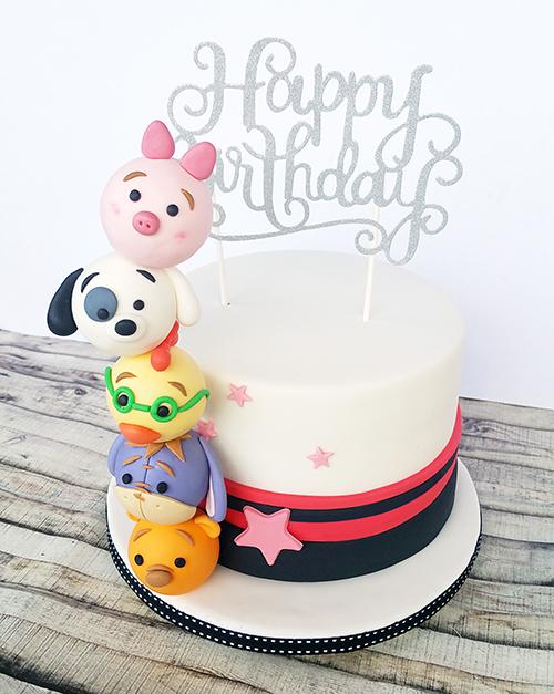Tsum Tsum Kids Birthday Cake