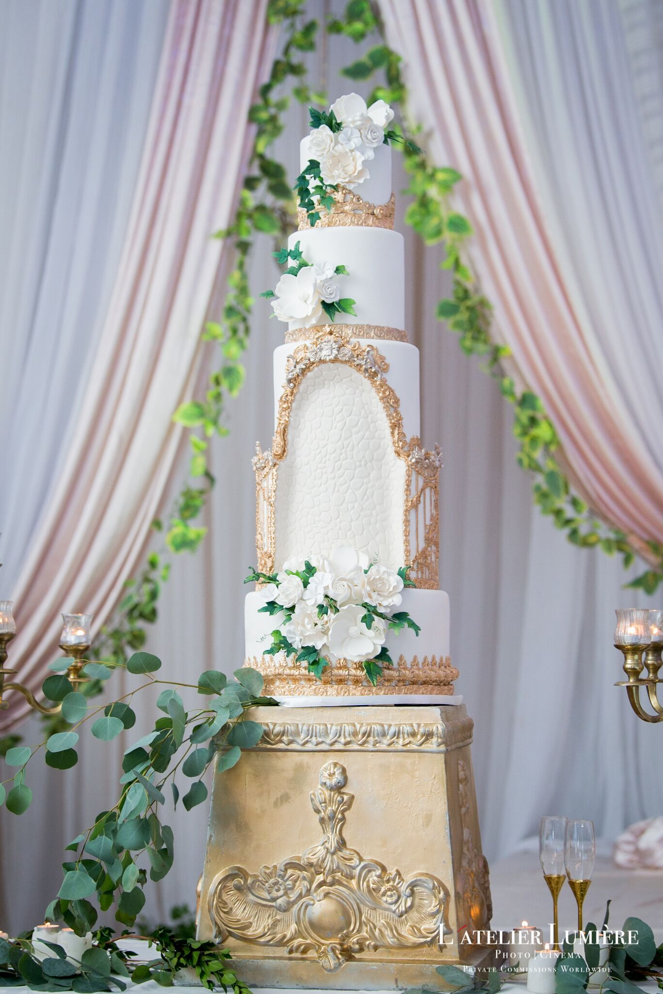 Zehra Khan Fine Cakes By Zehra Wedding 9