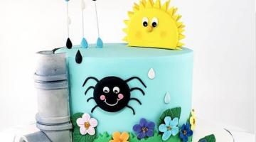 Its bitsy spider cake