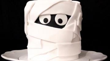 Fondant Mummy Cake