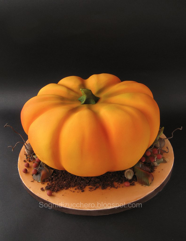Sculpted Pumpkin