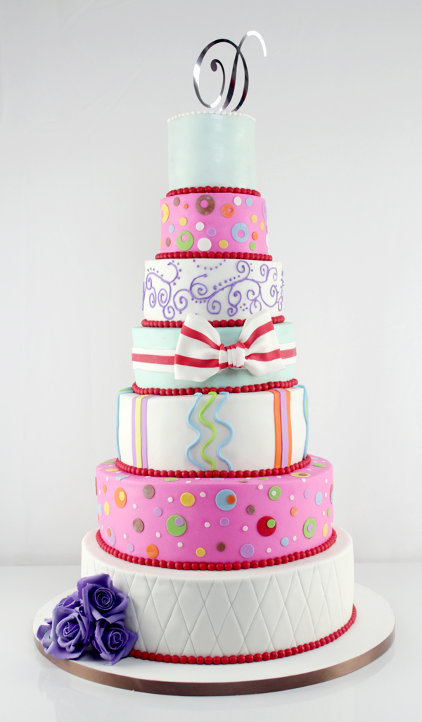Multi Colored Tiered