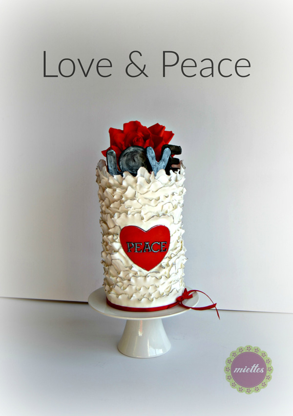 Love Barrel Cake