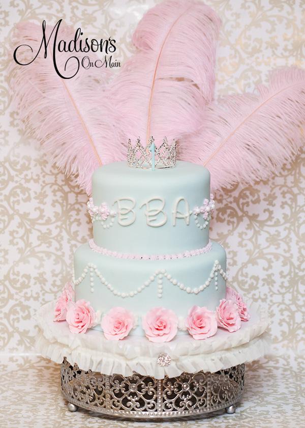 Parisian Birthday Cake